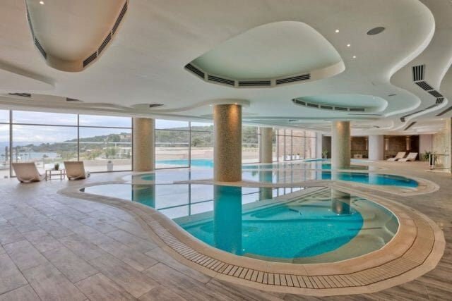 pool miraggio spa Wellness for Yacht Owners: Moor at Miraggio Thermal Spa Resort - EAT LOVE SAVOR International luxury lifestyle magazine and bookazines