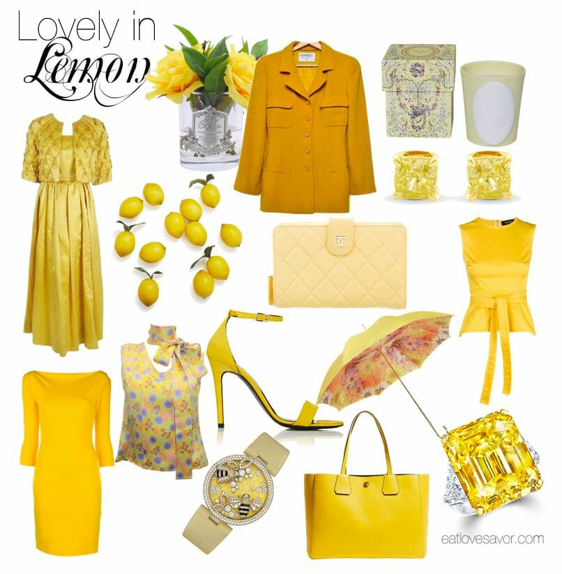 lovely in lemon Style Edit: Lovely in Lemon - EAT LOVE SAVOR International luxury lifestyle magazine, bookazines & luxury community