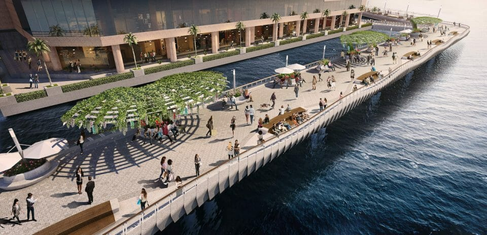 2Waterfront promenade day view Hong Kong's New, Creative Heart: Victoria Dockside, The $2.6 Billion USD Art And Design District - EAT LOVE SAVOR International luxury lifestyle magazine, bookazines & luxury community