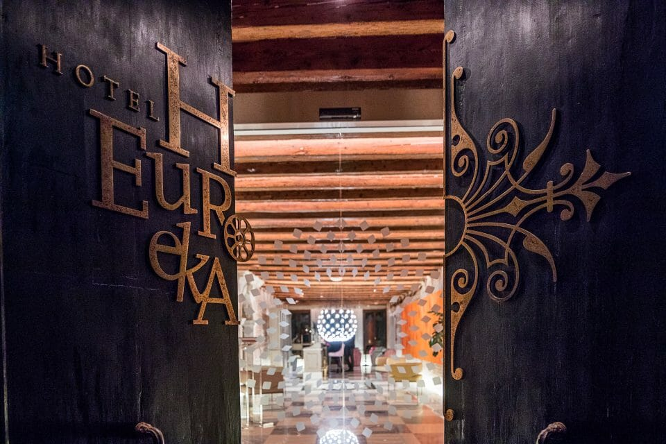 Hotel Entrance Hotel Heureka invites you to discover their Little Black Book of Secrets - EAT LOVE SAVOR International luxury lifestyle magazine, bookazines & luxury community