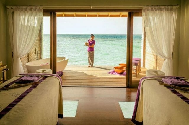 Hurawalhi Duniye Spa 4 preview Finding Zen 5.8 Meters Below the Sea's Surface at Hurawalhi Island Resort - EAT LOVE SAVOR International luxury lifestyle magazine and bookazines