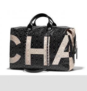 chanel bowling bag Gabrielle Handbag collection by Karl Lagerfeld ingrained with Coco Chanel's Spirit - EAT LOVE SAVOR International luxury lifestyle magazine and bookazines