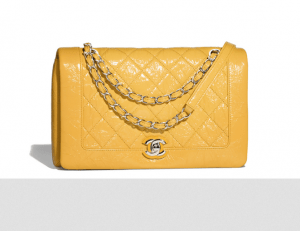 chanel flap bag yellow Gabrielle Handbag collection by Karl Lagerfeld ingrained with Coco Chanel's Spirit - EAT LOVE SAVOR International luxury lifestyle magazine and bookazines
