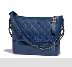 chanel gabirlle hobo bag goatskin Gabrielle Handbag collection by Karl Lagerfeld ingrained with Coco Chanel's Spirit - EAT LOVE SAVOR International luxury lifestyle magazine and bookazines