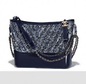 chanel gabrielle hobo bag tweed Gabrielle Handbag collection by Karl Lagerfeld ingrained with Coco Chanel's Spirit - EAT LOVE SAVOR International luxury lifestyle magazine and bookazines
