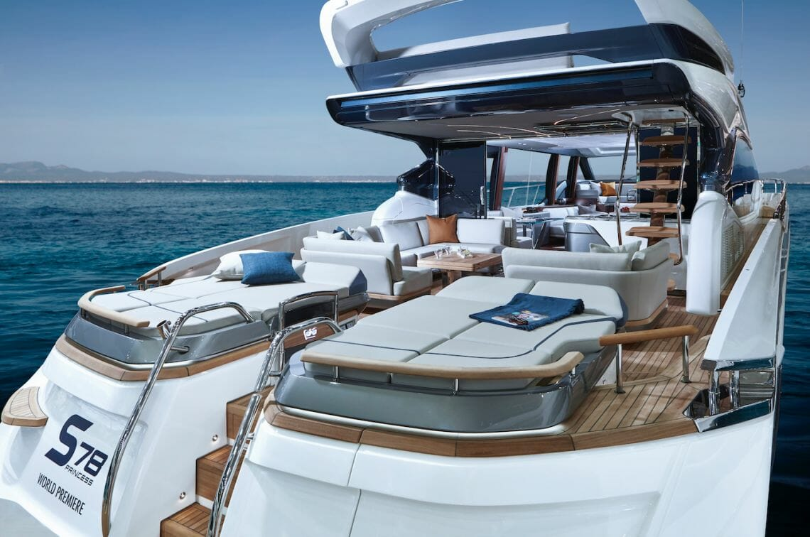 princess S78 cockpit Princess Yachts On The Crest Of A Wave As Orders Exceed $1 Billion (£. Billion) For First Time In 53-Year History - EAT LOVE SAVOR International Luxury Lifestyle Magazine