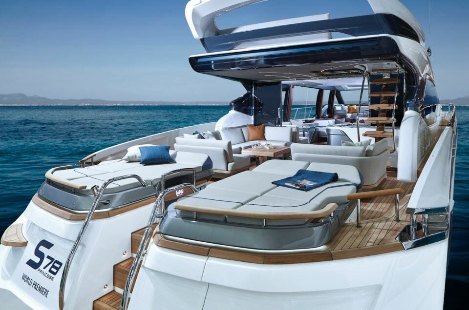 princess S78 cockpit Princess Yachts On The Crest Of A Wave As Orders Exceed $1 Billion (£. Billion) For First Time In 53-Year History - EAT LOVE SAVOR International luxury lifestyle magazine and bookazines