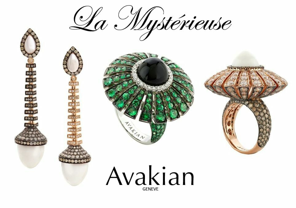 Avakian jewelry Beauty and Movement of Jewelry Collection 'La Mystérieuse' by Swiss Jewellery House of Avakian - EAT LOVE SAVOR International luxury lifestyle magazine, bookazines & luxury community