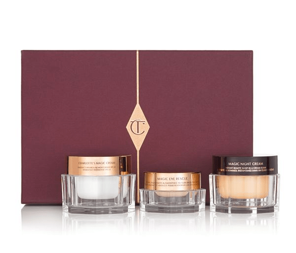 CHARLOTTE TILBURY MAGIC SKIN TRILOGY Lovely Luxury Gifts for Her - EAT LOVE SAVOR International luxury lifestyle magazine and bookazines