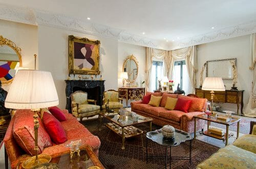 La Moraleja Madrid residence livingroom LUXURY REAL ESTATE | Resplendent, Sophisticated & Supremely Elegant Residence in La Moraleja Madrid - EAT LOVE SAVOR International luxury lifestyle magazine, bookazines & luxury community