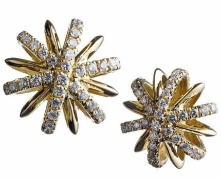 alexandra mor snowflake earrings Lovely Luxury Gifts for Her - EAT LOVE SAVOR International luxury lifestyle magazine and bookazines