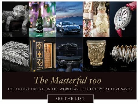 masterful 100 art 2018 1 Letter from the Publisher: Love Before Money. Passion and Purpose in Modern Publishing: EAT LOVE SAVOR, A True Luxury Love Story - EAT LOVE SAVOR International Luxury Lifestyle Magazine