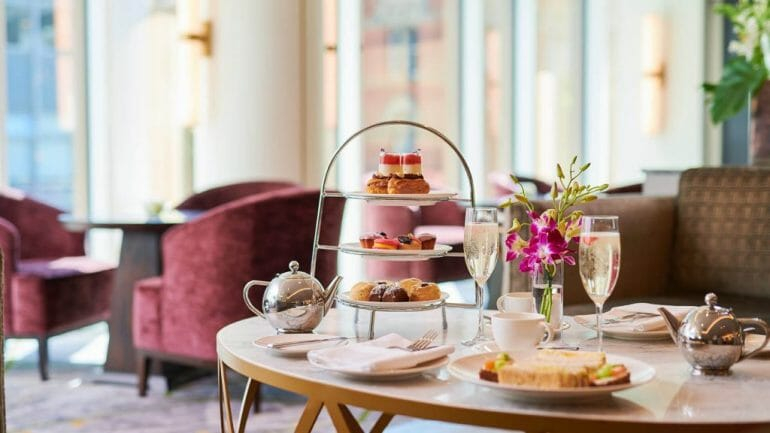afternoon tea belfast restaurant The Grand Central Hotel, Belfast Boasts a Fabulous Range Of Dining Options With Executive Head Chef, Damian Tumilty - EAT LOVE SAVOR International luxury lifestyle magazine and bookazines