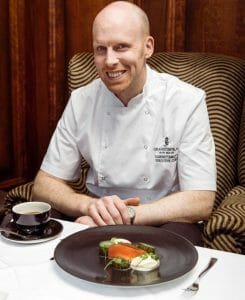 seahorse Chef Damian Tumilty belfast restaurant The Grand Central Hotel, Belfast Boasts a Fabulous Range Of Dining Options With Executive Head Chef, Damian Tumilty - EAT LOVE SAVOR International luxury lifestyle magazine and bookazines