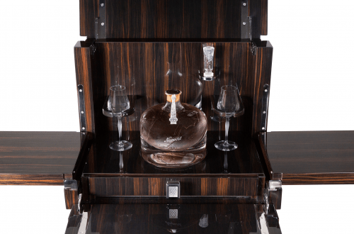 Niepoort in Lalique Decanter Cabinet 3 Landmark Collaboration Between Lalique And Niepoort Celebrates One Of The Rarest, Finest Port Wines Left In The World - EAT LOVE SAVOR International luxury lifestyle magazine, bookazines & luxury community