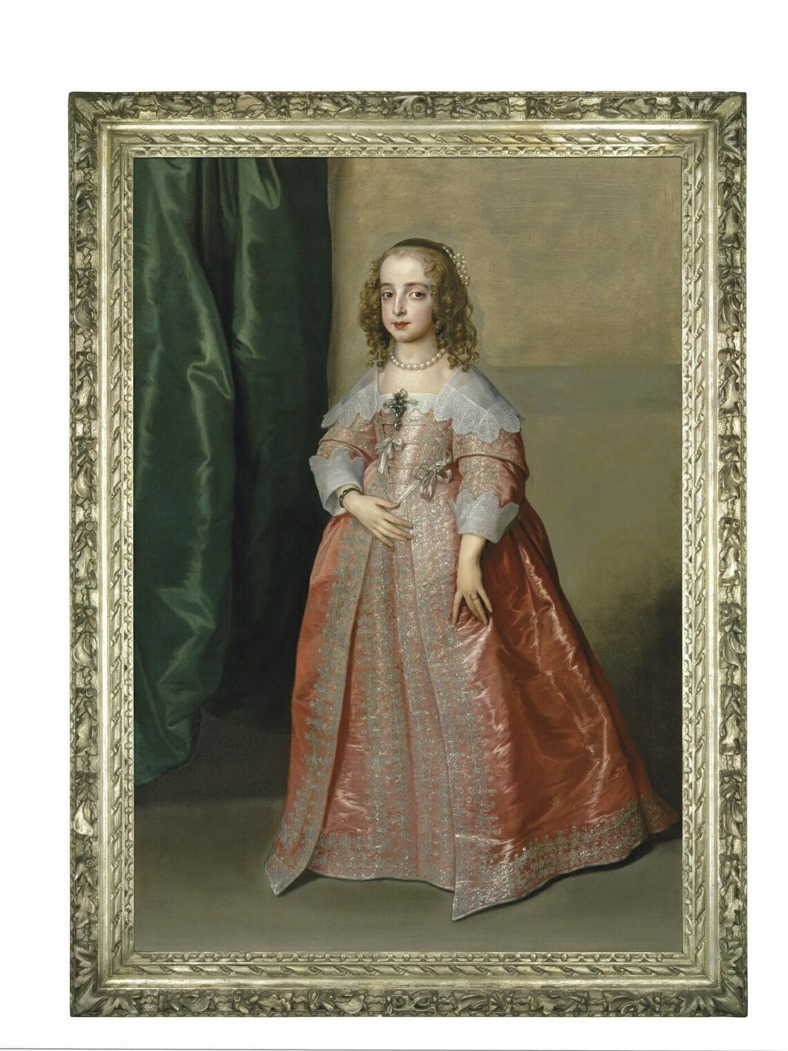 Portrait of Princess Mary CHRISTIES AUCTION painting AUCTION: A Masterpiece by Sir Anthony Van Dyck: Portrait of Princess Mary, daughter of King Charles I of England - EAT LOVE SAVOR International Luxury Lifestyle Magazine