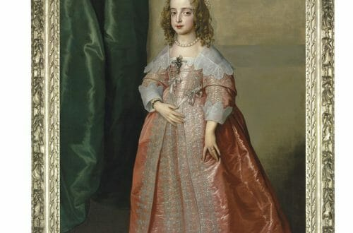 Portrait of Princess Mary CHRISTIES AUCTION painting AUCTION: A Masterpiece by Sir Anthony Van Dyck: Portrait of Princess Mary, daughter of King Charles I of England - EAT LOVE SAVOR International luxury lifestyle magazine, bookazines & luxury community