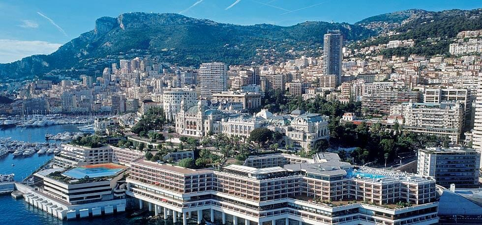 The Fairmont Monte Carlo Grand Prix Suites view of hotel A Guide to Monaco's Top Suites: Private Butlers, Walk-In Wardrobes and Complimentary Mini-Bars - EAT LOVE SAVOR International luxury lifestyle magazine, bookazines & luxury community