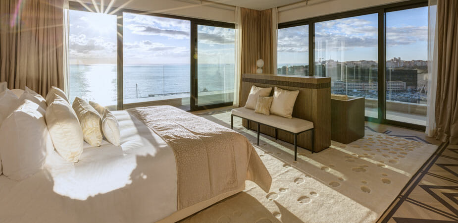 monaco SUITE PRINCESSE GRACE 1 A Guide to Monaco's Top Suites: Private Butlers, Walk-In Wardrobes and Complimentary Mini-Bars - EAT LOVE SAVOR International luxury lifestyle magazine, bookazines & luxury community