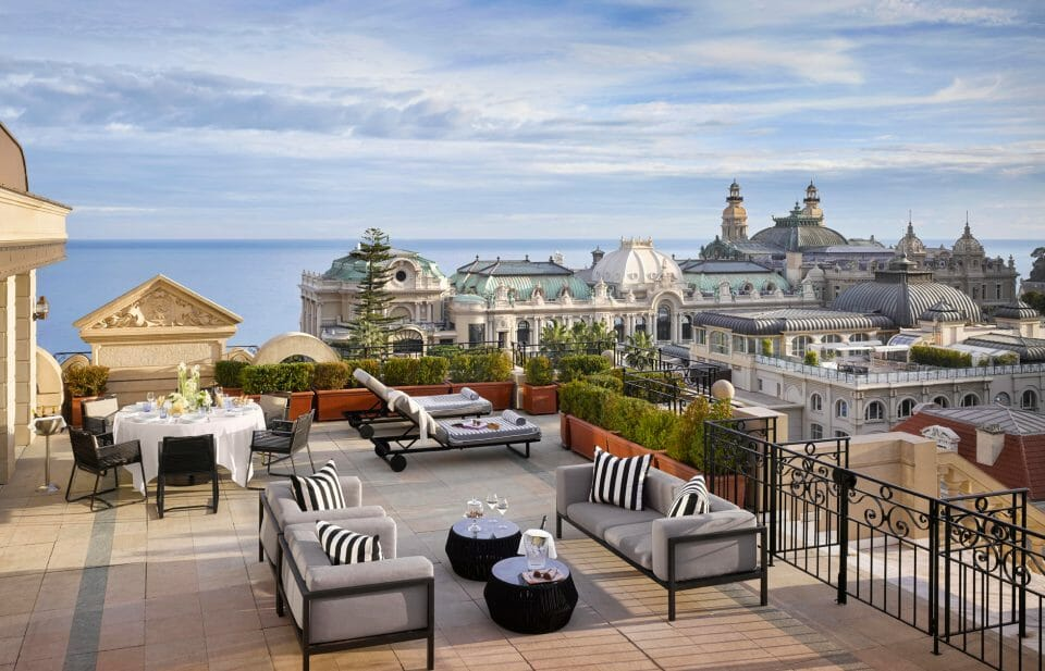 monaco suite Terrasse SCO Hotel Metropole MC W.Pryce A Guide to Monaco's Top Suites: Private Butlers, Walk-In Wardrobes and Complimentary Mini-Bars - EAT LOVE SAVOR International luxury lifestyle magazine, bookazines & luxury community