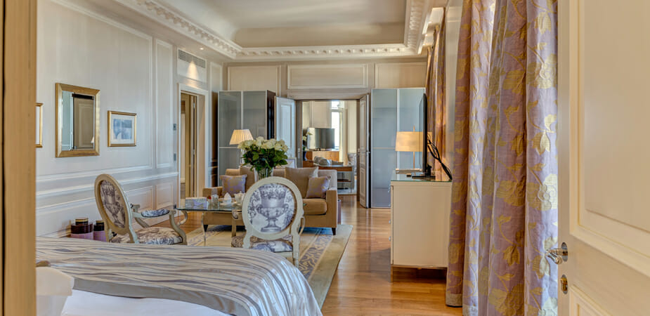princely diamond suite monaco hermitage hotel A Guide to Monaco's Top Suites: Private Butlers, Walk-In Wardrobes and Complimentary Mini-Bars - EAT LOVE SAVOR International luxury lifestyle magazine, bookazines & luxury community
