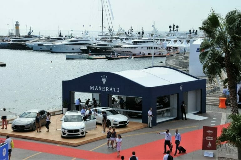 Cannes Yacht Show highlights Maserati Cap Villas 2018 Cannes Yacht Show: Highlights and Trends - EAT LOVE SAVOR International luxury lifestyle magazine and bookazines