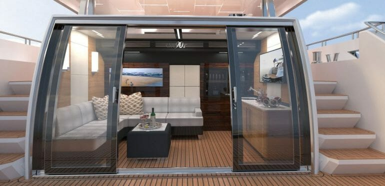 90r enc interior1 revised The Revolution Will Not Be Televised. Discover Ocean Alexander Superyachts - EAT LOVE SAVOR International Luxury Lifestyle Magazine