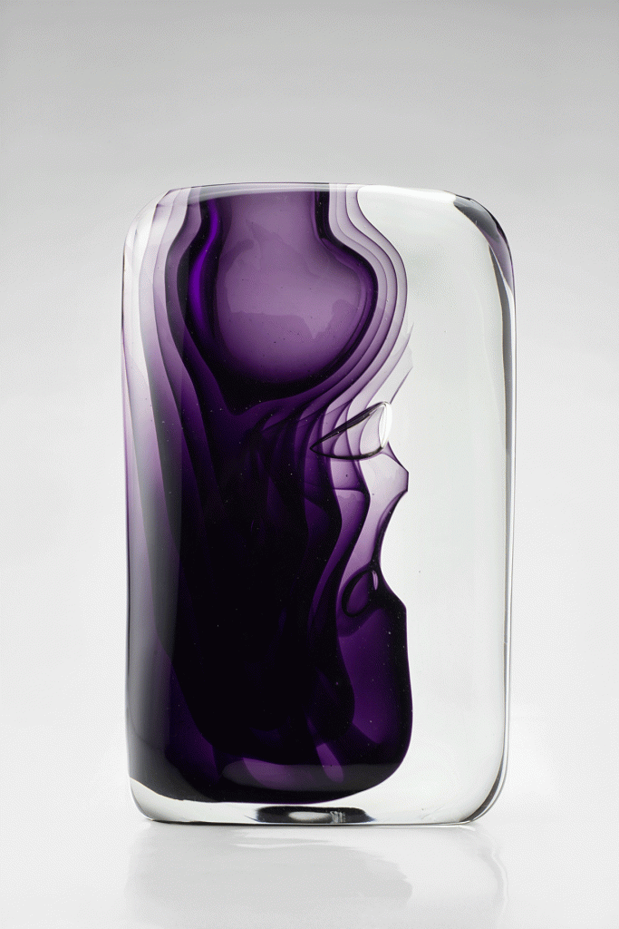 Antonio da Ros Momento Exhibition vase 1960 Fire & Light: Highlights From The Cenedese Archive, a Collection Of Rare Murano Glass Designs - EAT LOVE SAVOR International luxury lifestyle magazine and bookazines
