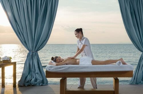 divani apollon palace private private massage 01 Divani Apollon Palace & Thalasso Introduces Spa Programme Inspired by Hippocrates' Philosophy - EAT LOVE SAVOR International luxury lifestyle magazine and bookazines