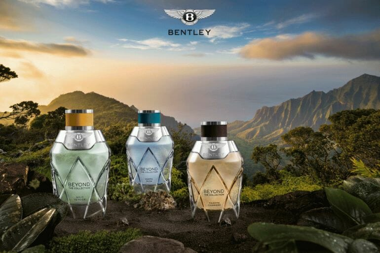 Bentley Beyond Collection HERO BENTLEY BEYOND – Discover the Collection, a New World of Scent - EAT LOVE SAVOR International luxury lifestyle magazine, bookazines & luxury community