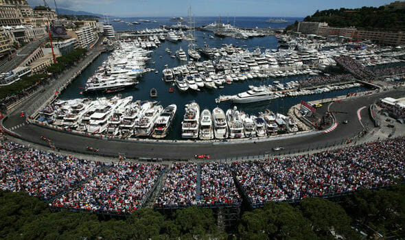 Monaco F1 harbor wide My Yacht® Group's Trackside Superyacht At The 77th Monaco Grand Prix - EAT LOVE SAVOR International luxury lifestyle magazine and bookazines
