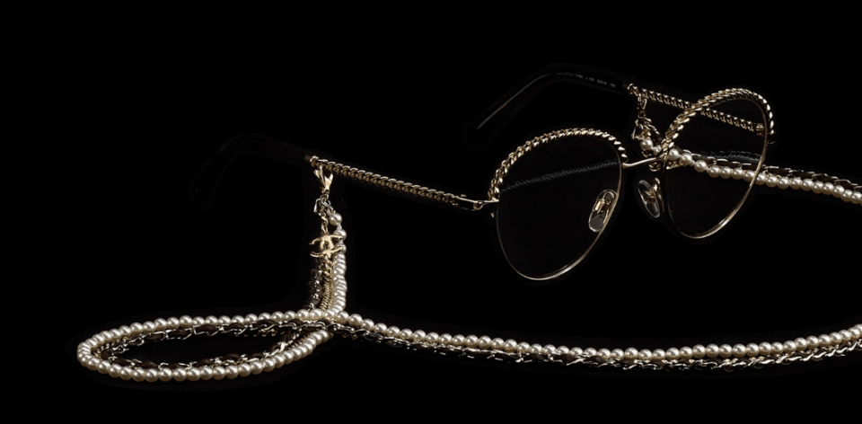 chanel tio of chains glasses CHANEL Eyewear Trio of Chains Collection - EAT LOVE SAVOR International Luxury Lifestyle Magazine