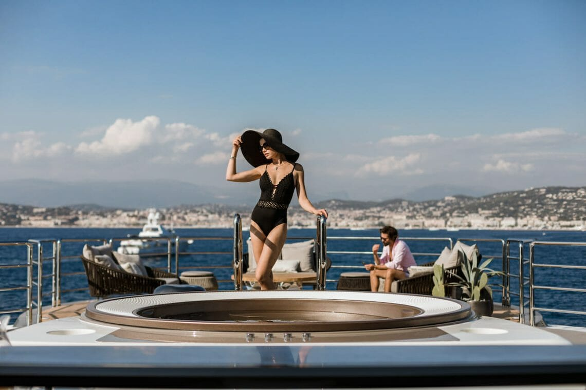 Aboard luxury superyacht SOLO by Tankoa Yachts Cruising across the Eastern Mediterranean - Your guide to skipping the crowds on a luxury yacht charter - EAT LOVE SAVOR International luxury lifestyle magazine, bookazines & luxury community