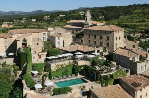 Hotel Crillon le Brave exterior Hotel Crillon le Brave, Provence, Re-Opens Following a Full Redevelopment - EAT LOVE SAVOR International luxury lifestyle magazine and bookazines