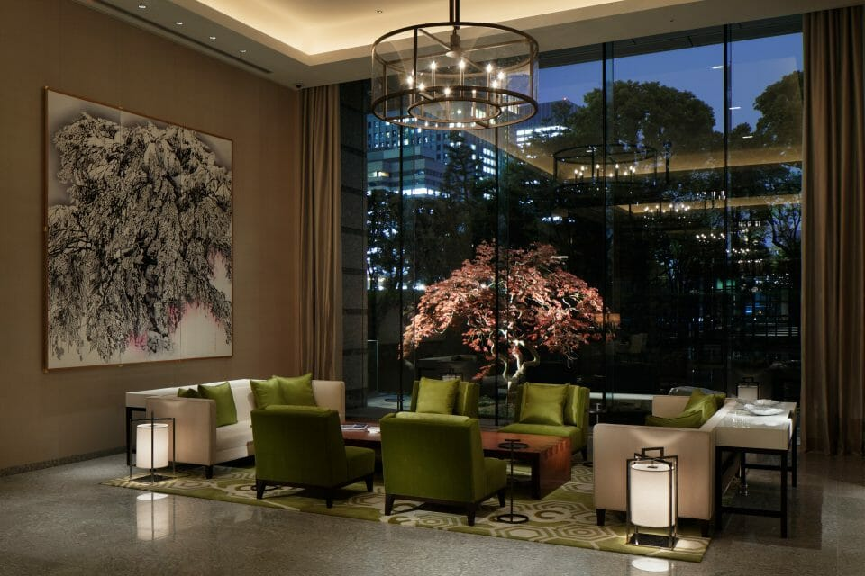 Palace Hotel Tokyo Lobby IV Chef Alain Ducasse To Debut New Restaurant at Palace Hotel Tokyo - EAT LOVE SAVOR International luxury lifestyle magazine, bookazines & luxury community
