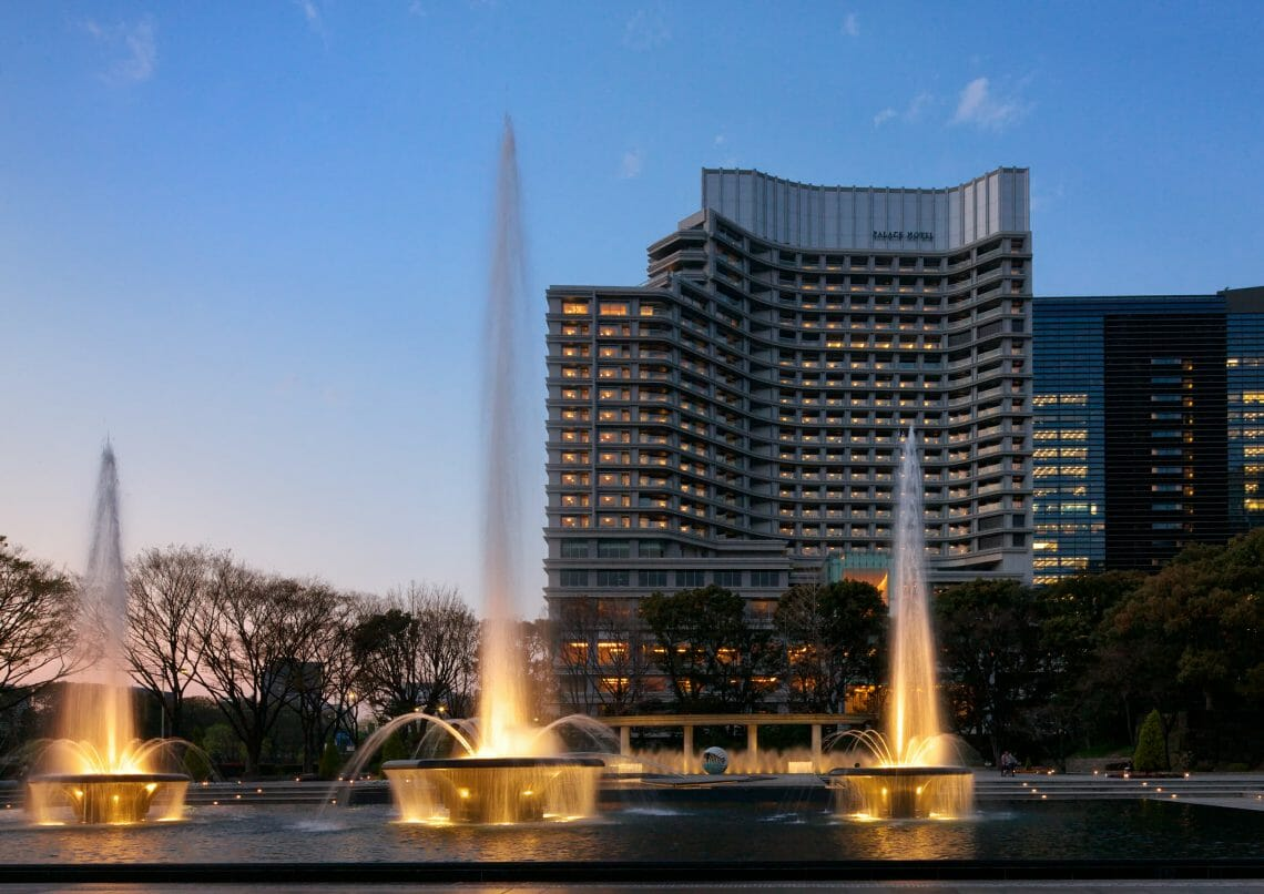 Palace Hotel Tokyo Wadakura Fountain Park at Night Chef Alain Ducasse To Debut New Restaurant at Palace Hotel Tokyo - EAT LOVE SAVOR International luxury lifestyle magazine, bookazines & luxury community