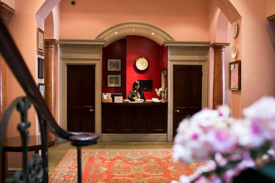 Public Areas Reception Escape to The Grange Hotel for an Intimate Country House Setting in York - EAT LOVE SAVOR International luxury lifestyle magazine and bookazines