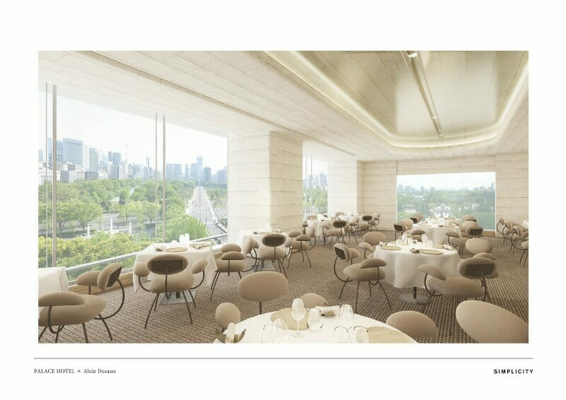ducasse palace tokyo hotel restaurant Chef Alain Ducasse To Debut New Restaurant at Palace Hotel Tokyo - EAT LOVE SAVOR International luxury lifestyle magazine, bookazines & luxury community