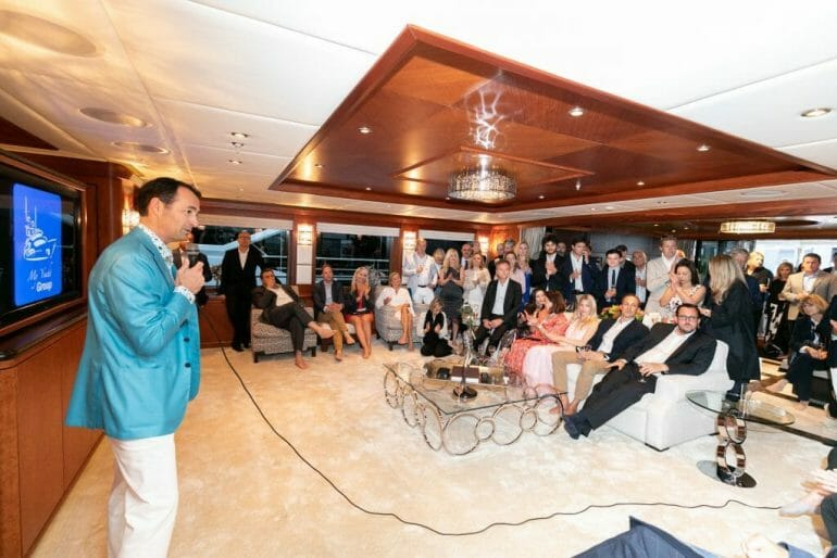 MYG Monaco GP 2019 82 An Out-Of-This-World Weekend at 77th Monaco F1® Weekend with Axiom Space Inc., SFJ Group, Crescent, Chateau d'Esclans, Champagne Regi & more aboard M/Y Skyfall with PA2F - EAT LOVE SAVOR International Luxury Lifestyle Magazine