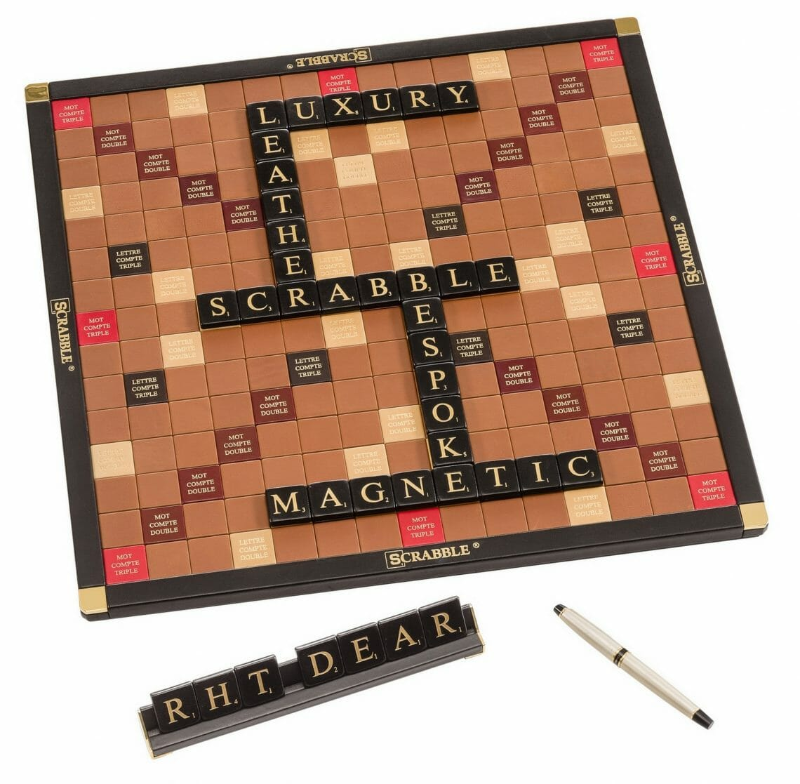 Overview Discover The Luxury Leather Edition, Scrabble® Game Crafted in France - EAT LOVE SAVOR International luxury lifestyle magazine and bookazines