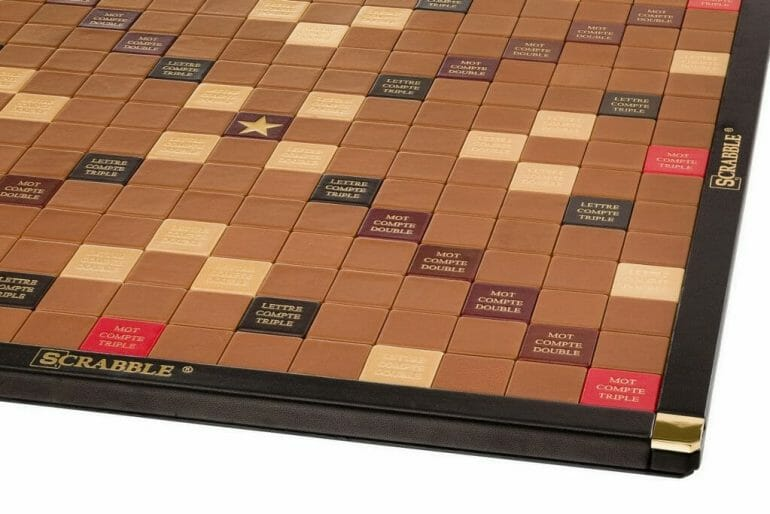 Zoom Board Discover The Luxury Leather Edition, Scrabble® Game Crafted in France - EAT LOVE SAVOR International luxury lifestyle magazine and bookazines