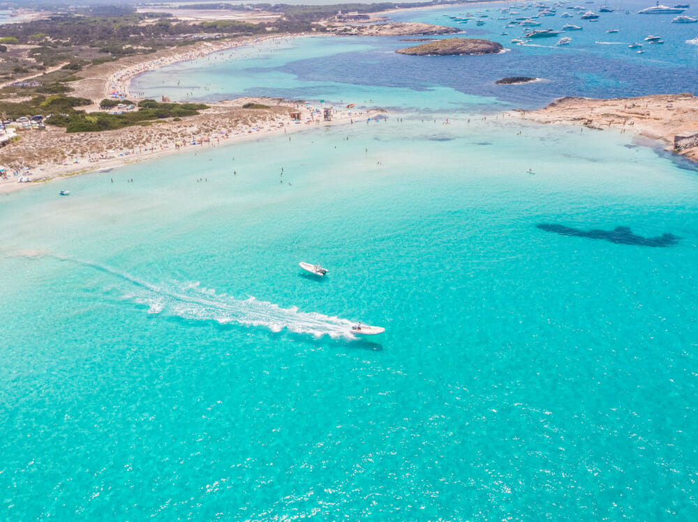 sailing in the Balearics Formentera Discovering Europe's best beaches: summer sailing in the Balearics - EAT LOVE SAVOR International luxury lifestyle magazine, bookazines & luxury community