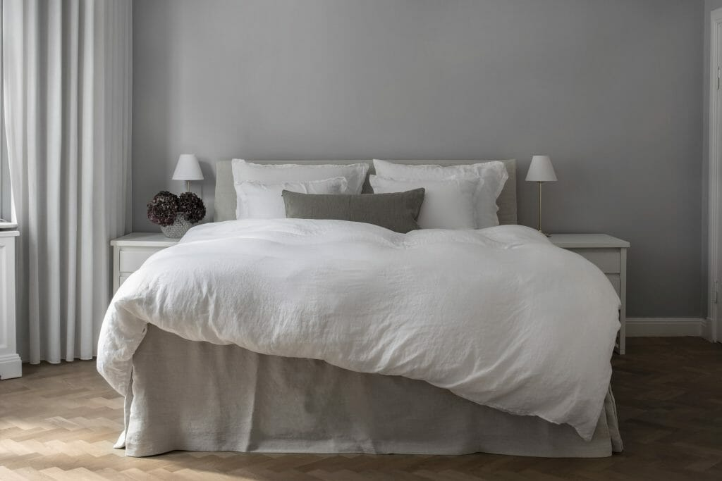 Hastens Being collection by Ilse Crawford Down Quilt and on the 2000T bed Achieve Perfect Sleep with Hästens - EAT LOVE SAVOR International luxury lifestyle magazine and bookazines