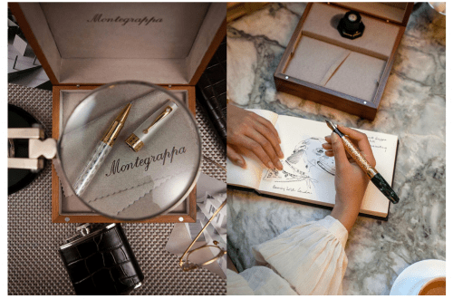 Montegrappa pen configurator -luxury lifestyle magazine editorial - EAT LOVE SAVOR