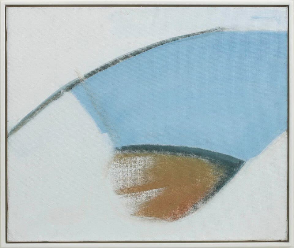 Peter Lanyon Blue Day Fine Arts: Four Giants of British Modernism On Exhibit at Beaux Arts London - EAT LOVE SAVOR International luxury lifestyle magazine, bookazines & luxury community