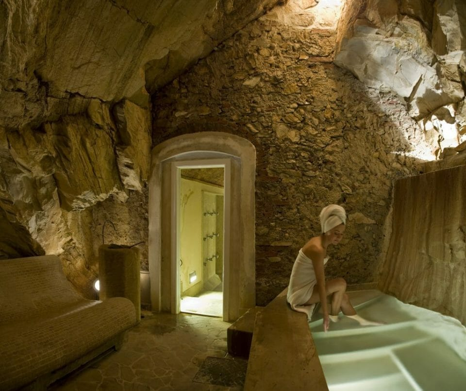 Bagni di Pisa Natural Spa The Grand Dukes Natural Grotto Explore the Beautiful Tuscan Countryside with Truffle Hunting from Italian Hospitality Collection - EAT LOVE SAVOR International luxury lifestyle magazine and bookazines