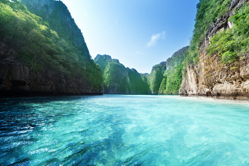 Phi Phi Island Photo © Thailand Yacht Show Superyacht Vacations to Remember: Travelling Thailand in Luxury - EAT LOVE SAVOR International Luxury Lifestyle Magazine