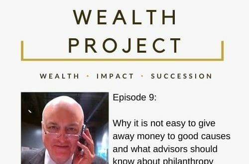 Copy of Episode 9 Card The True Wealth Project Podcast Presents: How to Increase and Improve Philanthropy with John Pepin - EAT LOVE SAVOR International luxury lifestyle magazine, bookazines & luxury community