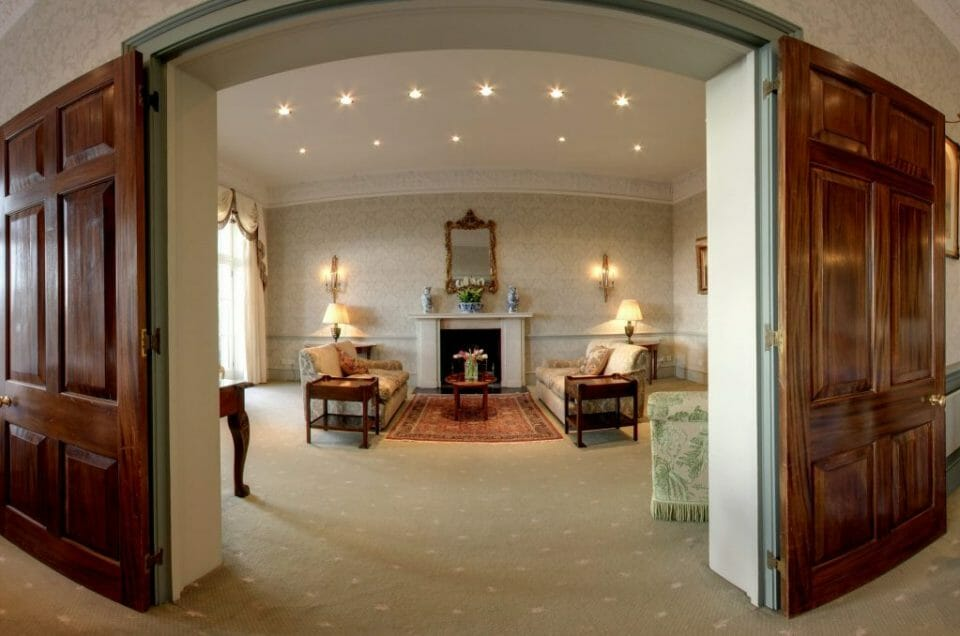 Drawing Room Fire Cozy Winter Getaway for Dogs and Owners at The Grange Hotel - EAT LOVE SAVOR International Luxury Lifestyle Magazine