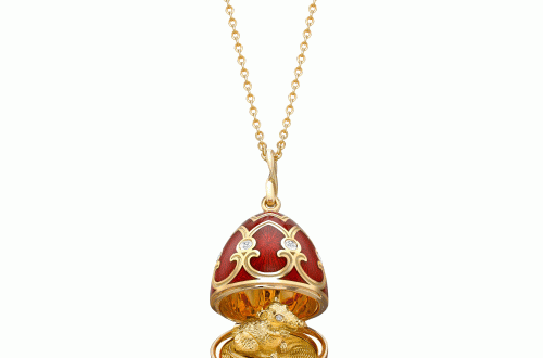 Faberge Palais Tsarskoye Selo Red Rat Surprise Locket Fabergé Welcomes Chinese New Year with Rat Pendant Palais Tsarskoye Selo Red Locket - EAT LOVE SAVOR International luxury lifestyle magazine, bookazines & luxury community